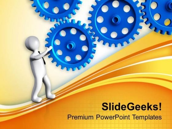 Analysis Of Business Workflow PowerPoint Templates Ppt Backgrounds For Slides 0613