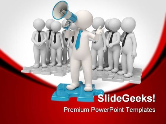 Announcements Business PowerPoint Themes And PowerPoint Slides 0811