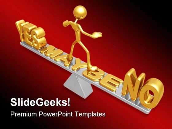 Answer Balance Business PowerPoint Themes And PowerPoint Slides 0411
