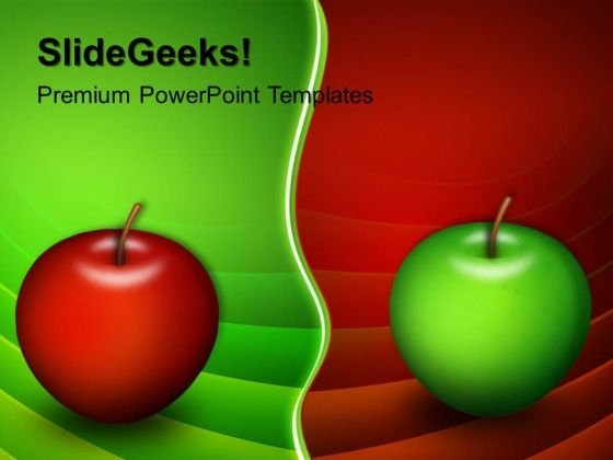 Apples Choices Business PowerPoint Templates And PowerPoint Themes 0512