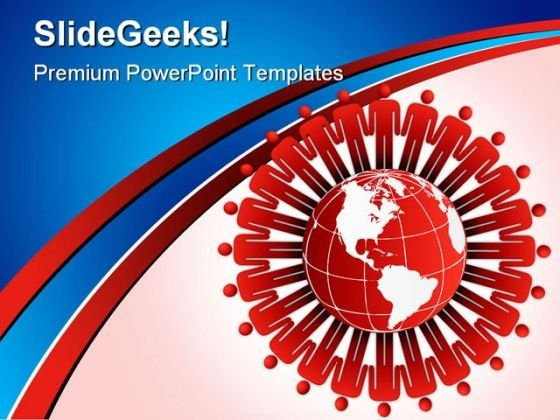 Around The World Global PowerPoint Templates And PowerPoint Backgrounds 0311