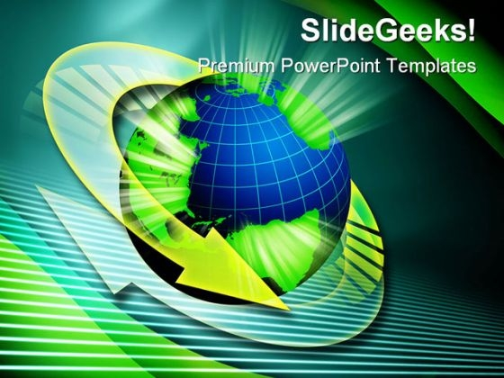 Around World01 Global PowerPoint Templates And PowerPoint Backgrounds 0411