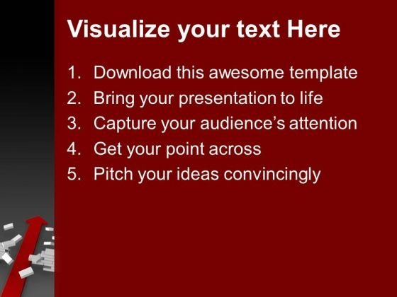 arrow_found_solution_business_powerpoint_templates_and_powerpoint_themes_1012_text