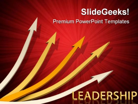 Arrows01 Leadership PowerPoint Themes And PowerPoint Slides 0411