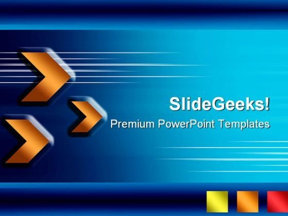 Arrows Abstract Background PowerPoint Themes And PowerPoint Slides 0711