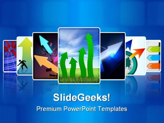 Arrows Collage Business PowerPoint Templates And PowerPoint Backgrounds 0211