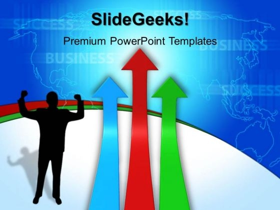 Arrows Success PowerPoint Templates And PowerPoint Themes 0412