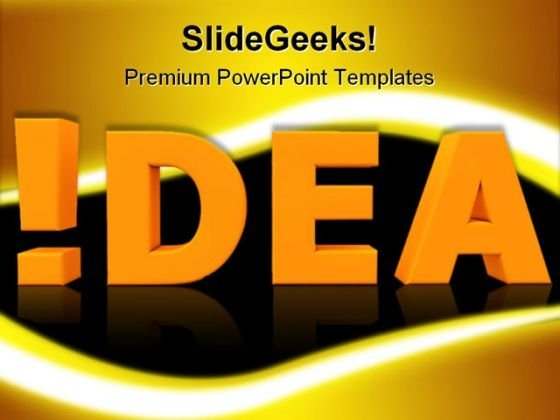 Attention Idea Business PowerPoint Templates And PowerPoint Backgrounds 0211