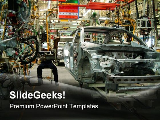 Auto Industrial PowerPoint Themes And PowerPoint Slides 0511