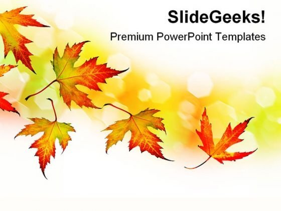 Autumn Background Nature PowerPoint Themes And PowerPoint Slides 0411