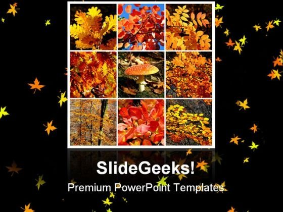Autumn Collage Nature PowerPoint Templates And PowerPoint Backgrounds 0611