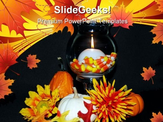 Autumn Glow Beauty PowerPoint Themes And PowerPoint Slides 0411