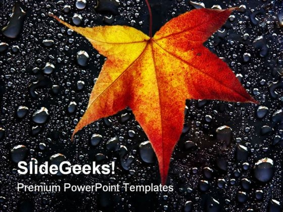 Autumn Leaves01 Nature PowerPoint Themes And PowerPoint Slides 0511