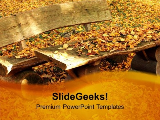 Autumn Leaves Background PowerPoint Templates Ppt Backgrounds For Slides 0613