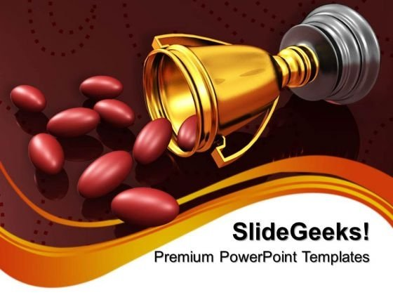 award winning ingredients winner powerpoint templates and, Modern powerpoint