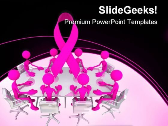 Awareness Meeting Medical PowerPoint Themes And PowerPoint Slides 0411