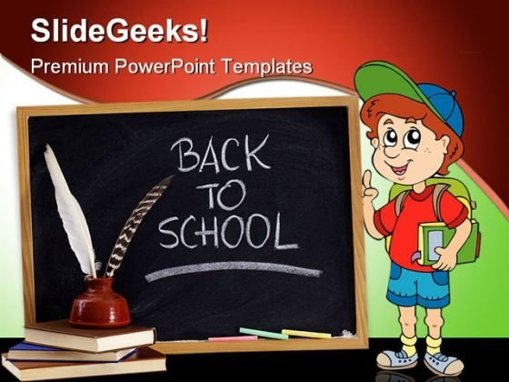 Back To School01 Education PowerPoint Template 1010