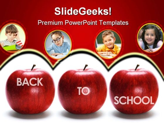 Back To School Children PowerPoint Backgrounds And Templates 0111
