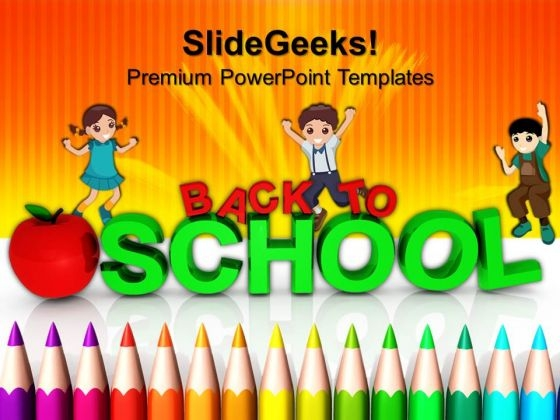 Back To School Concept Education PowerPoint Templates And PowerPoint Themes 0612