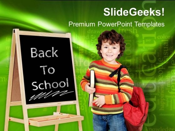 Back To School Education PowerPoint Templates And PowerPoint Themes 0412