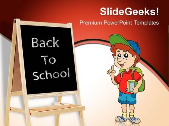 Back To School Education PowerPoint Templates And PowerPoint Themes 0512