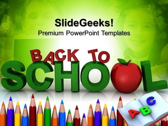 Back To School Education PowerPoint Templates And PowerPoint Themes 0712