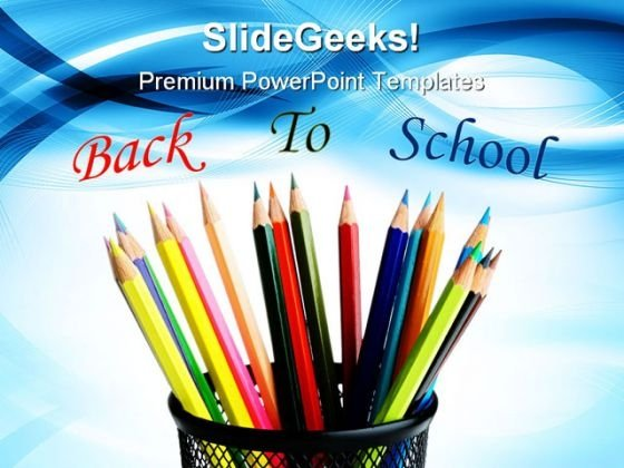 Back To School Education PowerPoint Themes And PowerPoint Slides 0411
