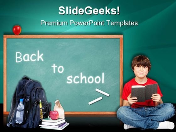 Back To School Education PowerPoint Themes And PowerPoint Slides 0511