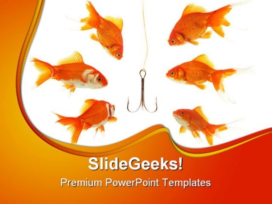 Bait Animals PowerPoint Background And Template 1210