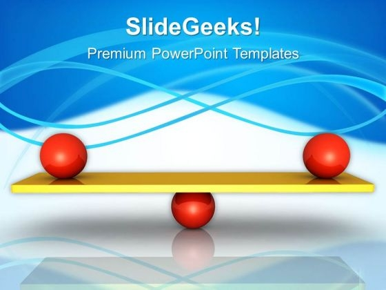 Balance Success PowerPoint Templates And PowerPoint Themes 0512
