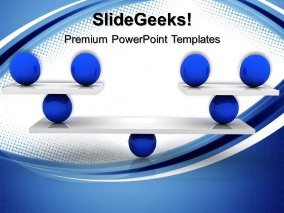 Balanced Business PowerPoint Templates And PowerPoint Themes 0512