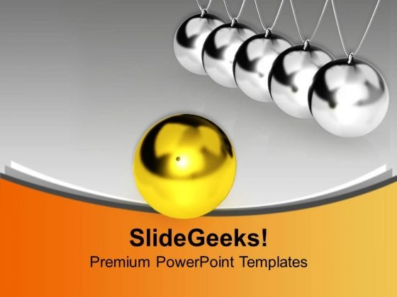 Balancing Balls Teamwork PowerPoint Templates Ppt Backgrounds For Slides 0213