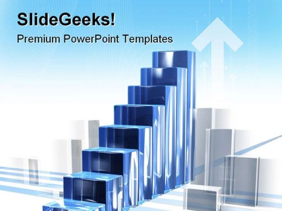 Bar Chart In Motion Business PowerPoint Themes And PowerPoint Slides 0511