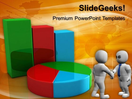 Bar Graph And Pie Chart Finance PowerPoint Templates And PowerPoint Themes 0612