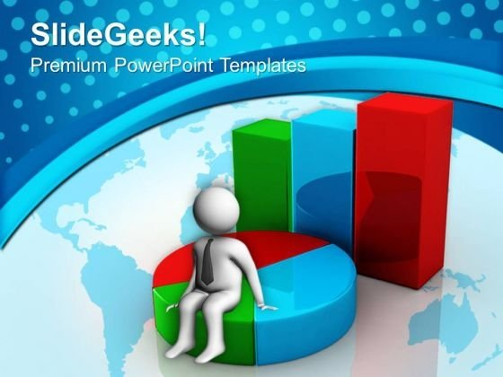 Bar Graph And Pie Chat Business PowerPoint Templates And PowerPoint Themes 0712
