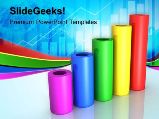 Bar Graph Business PowerPoint Templates And PowerPoint Themes 0412