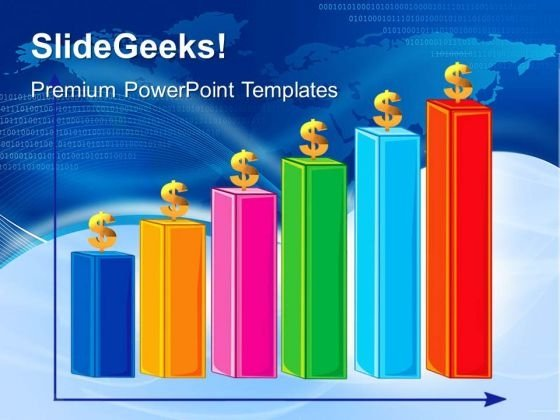 Bar Graph Finance PowerPoint Templates And PowerPoint Themes 0412