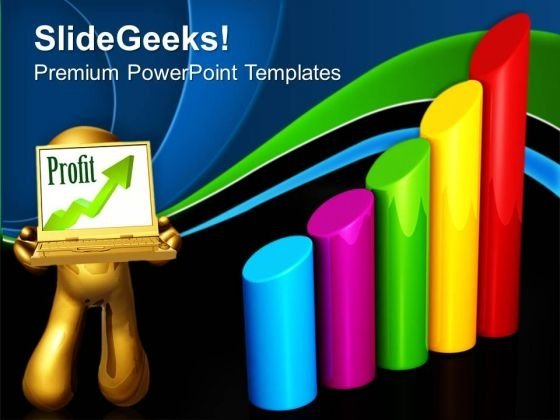 Bar Graph Growth Business PowerPoint Templates And PowerPoint Themes 0912