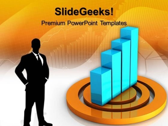 Bar Graph On Target01 Business PowerPoint Templates And PowerPoint Themes 0512