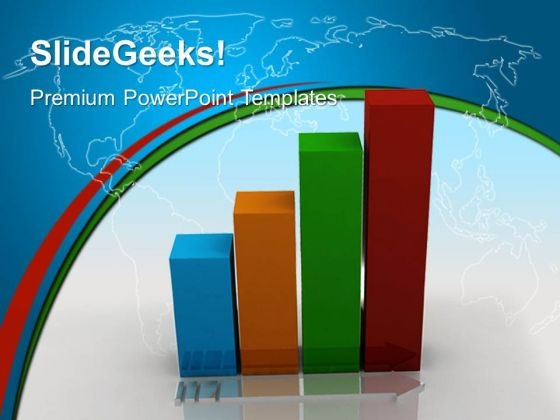 Bar Graph Showing Growth Global PowerPoint Templates And PowerPoint Themes 0412