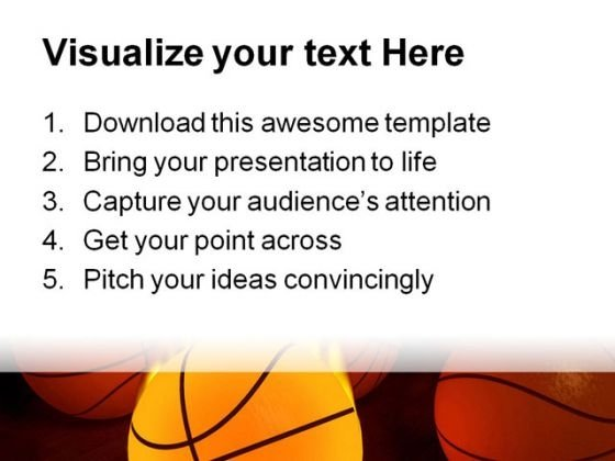 Basketball Sports Powerpoint Themes And Powerpoint Slides