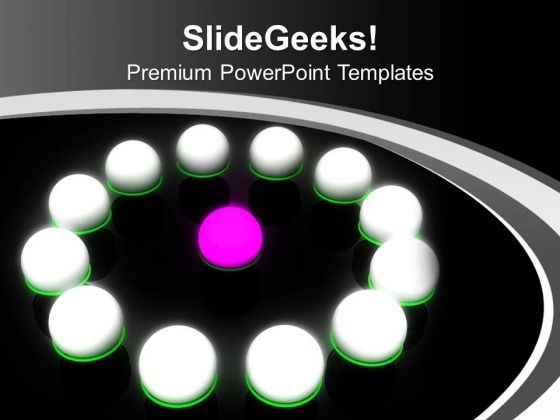 Be A Leader In Business PowerPoint Templates Ppt Backgrounds For Slides 0413