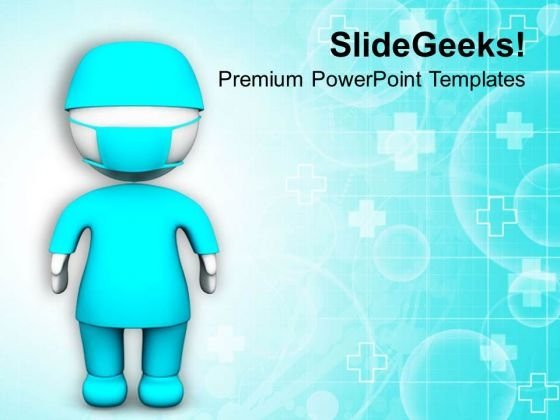 Be A Medical Representative PowerPoint Templates Ppt Backgrounds For Slides 0713