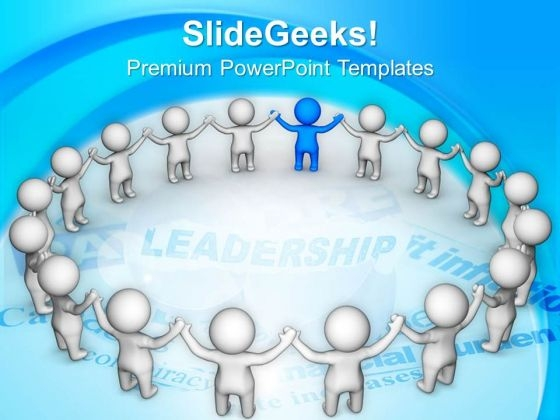 Be A Team Leader With Good Skills PowerPoint Templates Ppt Backgrounds For Slides 0613