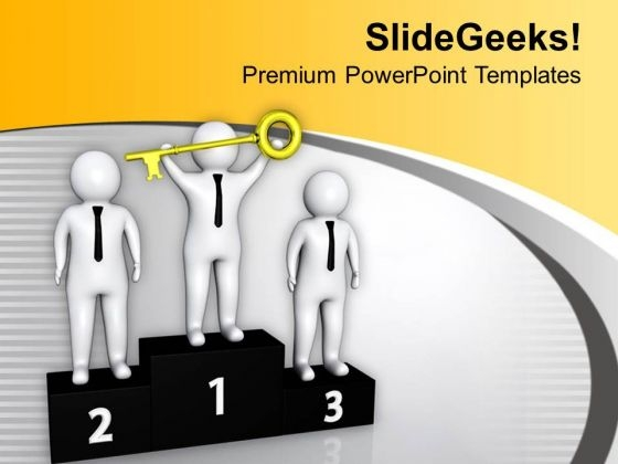 Be A Winner In Business PowerPoint Templates Ppt Backgrounds For Slides 0813