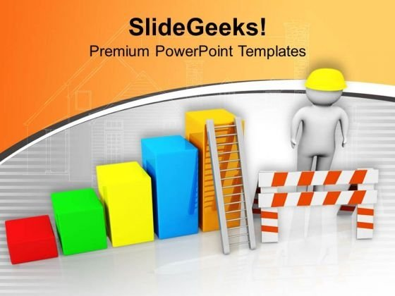 Be Aware On Construction Site PowerPoint Templates Ppt Backgrounds For Slides 0713