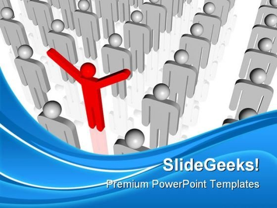 Be Different01 Leadership PowerPoint Templates And PowerPoint Backgrounds 0511