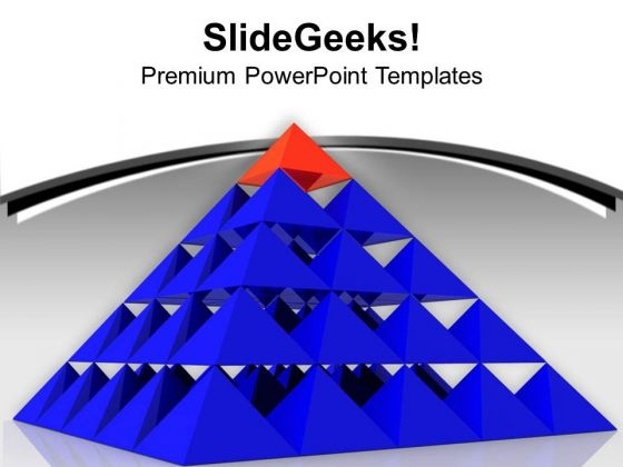 Be On Top Position In Business PowerPoint Templates Ppt Backgrounds For Slides 0613