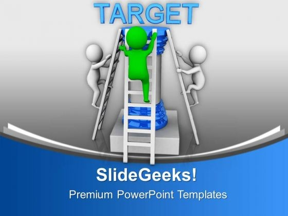 Be Quick To Get The Target PowerPoint Templates Ppt Backgrounds For Slides 0813