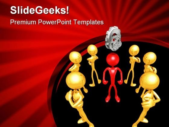 Be Smart Business PowerPoint Themes And PowerPoint Slides 0411